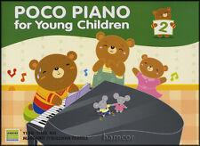 Piano poco para los niños libro 2 con Pegatinas Aprender A Jugar Niños método