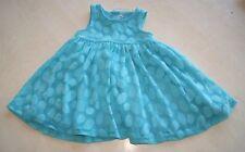 Robe bleue neuve taille 6 mois (b)