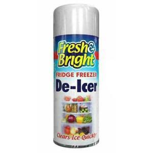 6x De Icer Spray Defrost Ice Quickly Fridge Freezer Car windscreen Deicer 200ml