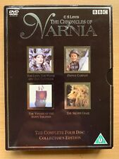 The Chronicles Of Narnia DVD Box Set Complete Collection Classic BBC / CS Lewis