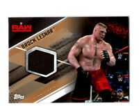 WWE Brock Lesnar 2017 Topps TNF Bronze Event Used Shirt Relic Card SN 1 of 99