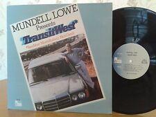 Mundell Lowe & Transit West,Pausa Records,PR7152,1stPROMOPress,VG+ Vinyl Jazz LP