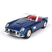Burago 1/24 Ferrari 250 GT California Racing Diecast Car Model Blue