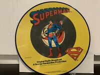 Superman - Episodes 1-4 (Original Radio Broadcast) LP 1978 Picture Disc RARE EX