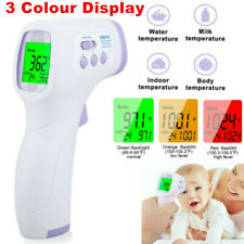 New Ir Infrared Digital Forehead Fever Thermometer Non-Contact Baby / Adult Body