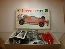 PROTAR metal 188 FERRARI 126C2 - F1 RED 1:12 - UNBUILT CONDITION IN BOX