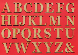Wooden MDF Letters Large Georgia Bold 3-30cm (3mm Thick) Arts Craft Decor Sign