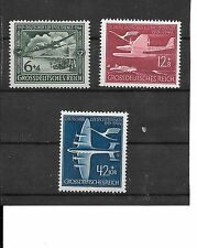 Germany 3rd Reich Mi# 866-868 MH 25th Anniversary of Air Service  *