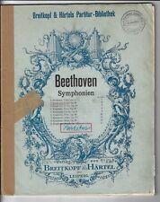 Partitur * Beethoven * 2. Symphonie D-Dur Op 36