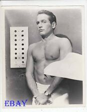 Paul Newman barechested RARE Photo The Prize