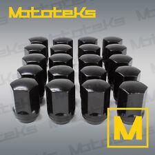 20x Black M14x1.5 Thread Lug Nuts OEM Factory Wheel Style Fit 2015+ Mustang GT