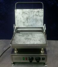 VELOX - SILESIA SMOOTH SINGLE CONTACT STEAK BURGER GRILL, GRIDDLE, PANINI PRESS.