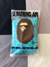 A Bathing Ape BAPE Full Zip Hoodie Large Teal Green