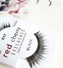 Red Cherry Wimpern #47 künstliches Echthaar perfekter Augenaufschlag