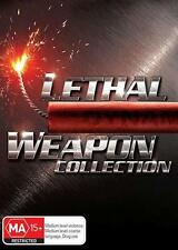 LETHAL WEAPON Collection 1 2 3 4 : NEW DVD