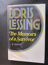 THE MEMOIRS OF A SURVIVOR by Doris Lessing. First Edition Signed. Fine Condition
