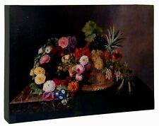 Clayre & Eef, Bild, Rosenmotiv, 30 x 3 x 21 cm