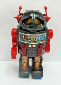 Vintage Made In Taiwan Monster Robot 24cm Tall - Battery Powered - (2759)