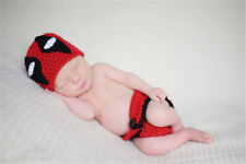 Boys Girl Crochet Knit Clothes Hat Newborn Baby Photo Photography Prop Costume
