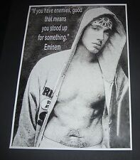 EMINEM INSPIRATIONAL / MOTIVATIONAL QUOTE POSTER A3 SIZE