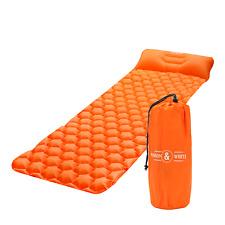 Ultralight Portable Air Bed Inflatable Sleeping Mattress Camping Mat M&W