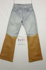 Levi's 501 customized (Code D657) Taille 44 W30 L32 jeans d'occassion vintage