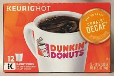 """Dunkin' Donuts """"Dunkin' Decaf"""" K-Cups  (72 K-Cups Total)"""