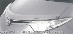 Genuine Toyota Tarago ACR50 GSR50 Bonnet Protector Clear Nov 2006 On PZQ15-28050