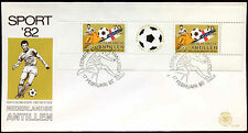 Netherlands Antilles 1982 Sports Fund M/S FDC First Day Cover #C26725