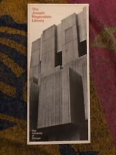 The Joseph Regenstein Library Travel Brochure University Of Chicago