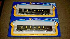 HO Scale Exact Rail Evolution Detroit, Toledo & Ironton #9652 and #9647