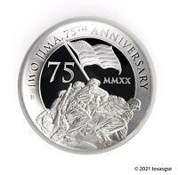 2020-P $5 Iwo Jima 75th Anniversary 5oz High Relief Silver Proof Coin