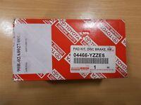 Genuine Toyota Avensis 2010-2016 Rear Brake Pads 04466-YZZE5