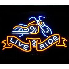 Motorcycle Neon Bar Sign - Free Shipping!