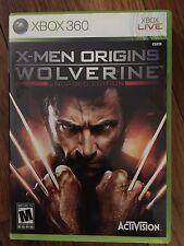 X-Men Origins: Wolverine: Uncaged Edition (Microsoft Xbox 360) Complete