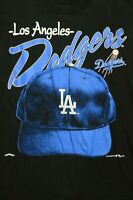 Vintage Nutmeg Los Angeles Dodgers MLB Helmet Graphic T-Shirt Men's Size Medium