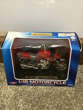 Motor Max Motorcycle Street Cruiser 1100s - Scale 1:18 - Boxed