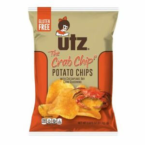 UTZ - The Crab Chip - Potato Chips - 2.875oz (Choose 2 or 3 Bags)