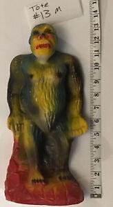 """Vintage Plaster King Kong Gorilla 13"""" old carnival colorful"""