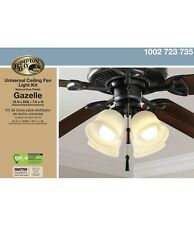 Hampton Bay Gazelle 4-Light LED Ceiling Fan Light Kit 91306
