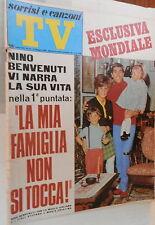 TV SORRISI E CANZONI 19 maggio 1968 Nino Benvenuti Gigliola Cinquetti Celentano