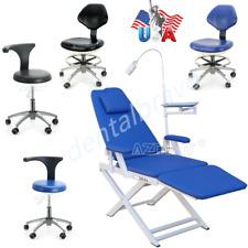 Dental Portable Folding Adjustable Height Chair Office Adjustable Mobile Stool