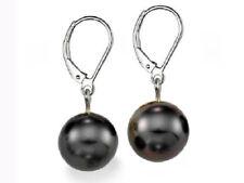 Pendientes de joyería con perlas plata