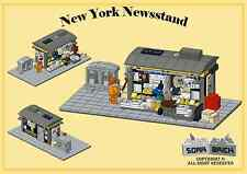 Custom instruction, consisting of LEGO elements - New York Newsstand