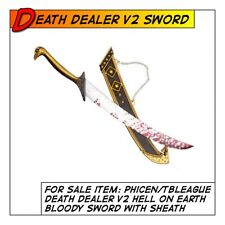 Phicen/TBLeague Death Dealer V2 Sword w/ Sheath for 1/6 12 in scale Male Toys