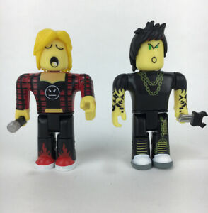 Jazwares Roblox 3 Inch Punk Rockers Lot Of 2 Action Figures