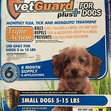 Dog Flea And Tick Lice Treatment Control Medicine 4 Month Prevention Small Dogs