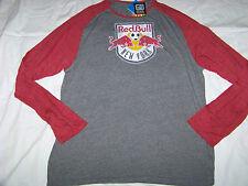 Adidas Originals Men's New York Red Bull Long Sleeve Shirt NWT 2XL