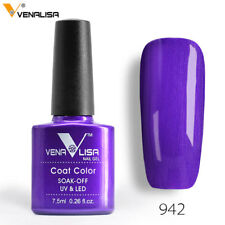 60 Colors VENALISA Nail Polish Enamel Gel Lacquer Soak Off Art Varnish UV LED