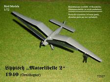 Lippisch Motorlibelle 2  1940    1/72 Bird Models Resinbausatz / resin kit